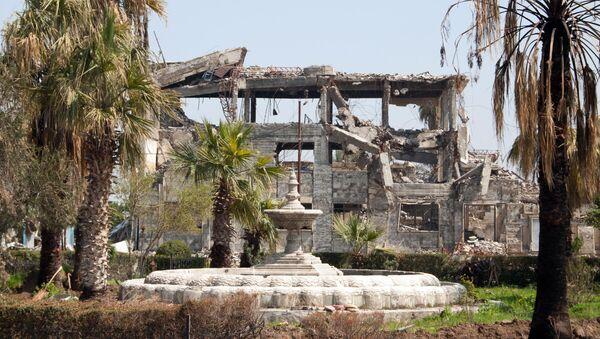 Zničené budovy v Mosulu - Sputnik Česká republika