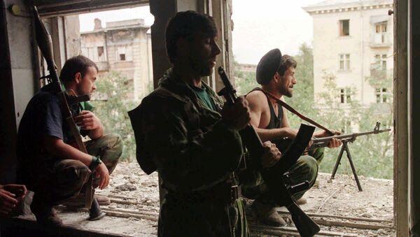 Čečenští bojovnici - Sputnik Česká republika