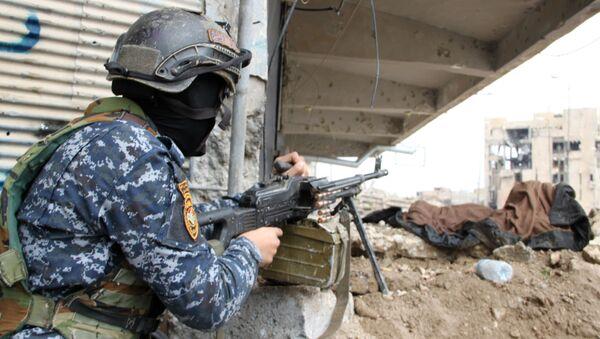 Irácký voják - Sputnik Česká republika