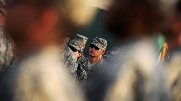 Американские военнослужащие в Афганистане - Sputnik Česká republika