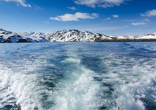 Pohled na Barenstovo moře