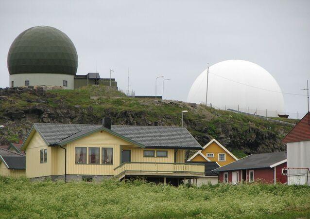 Radar Globus II na ostrově Vardo