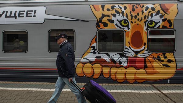 Vlak Moskva-Vladivistok - Sputnik Česká republika