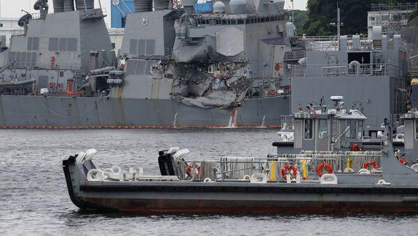 Torpédoborec USS Fitzgerald - Sputnik Česká republika