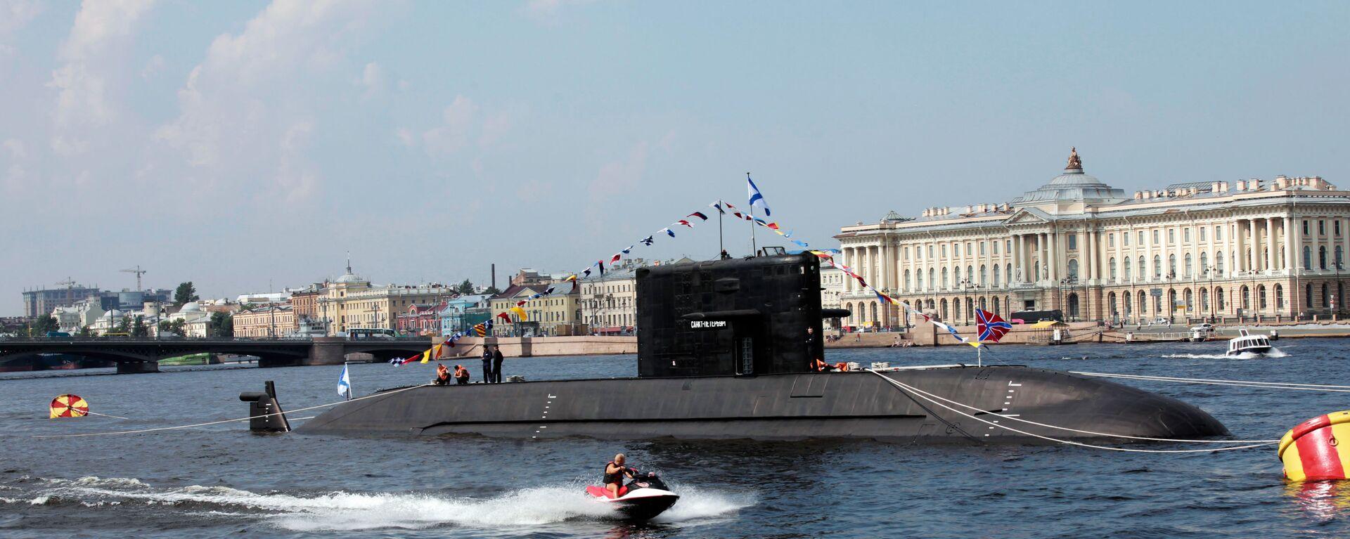 Dieselová ponorka projektu 677 typu Lada - Sputnik Česká republika, 1920, 13.05.2021