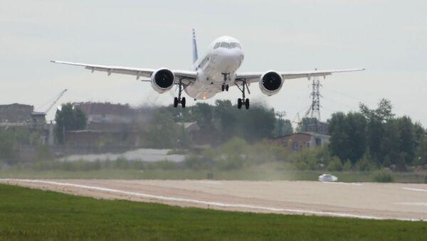 První let ruského dopravního letadla MS-21. Ilustrační foto - Sputnik Česká republika