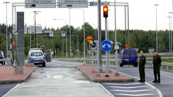 Rusko-finská hranice. Archivní foto - Sputnik Česká republika