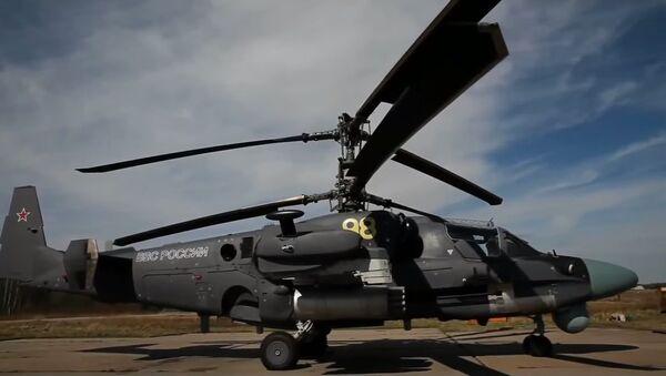 Vrtulník Kamov KA-52 - Sputnik Česká republika