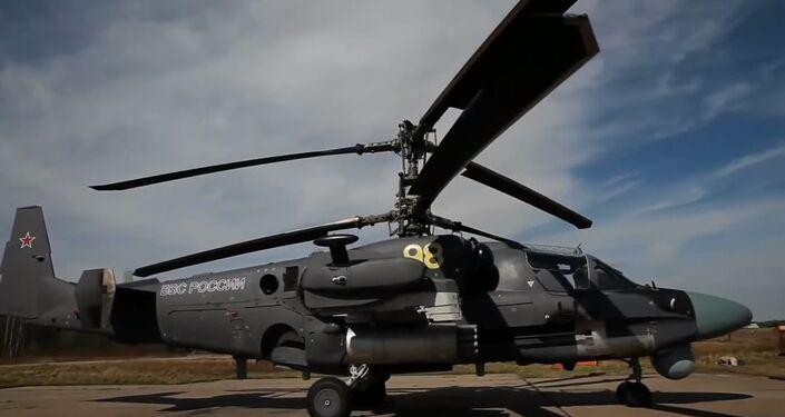 Vrtulník Kamov KA-52