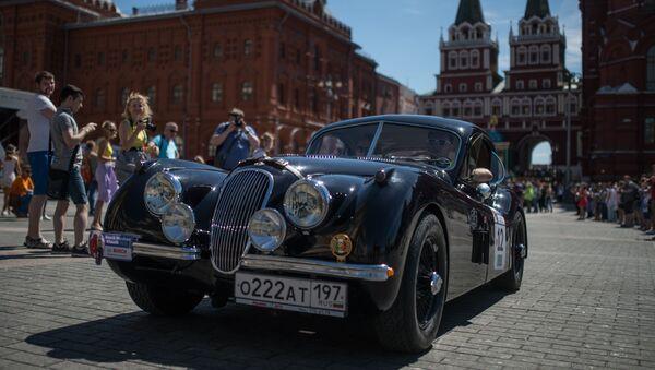 Rallye Bosch Moskau Klassik 2015 - Sputnik Česká republika