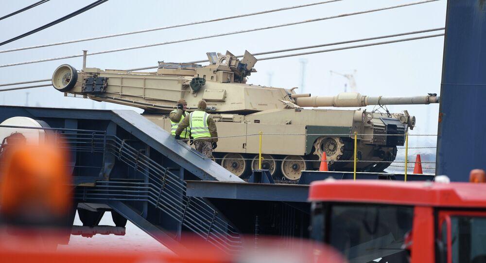 Americký tank Abrams