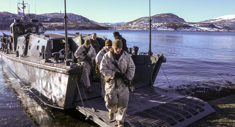 Američtí námořní pěšáci v Norsku