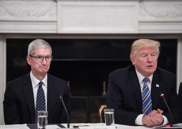 Ředitel společnosti Apple Tim Cook