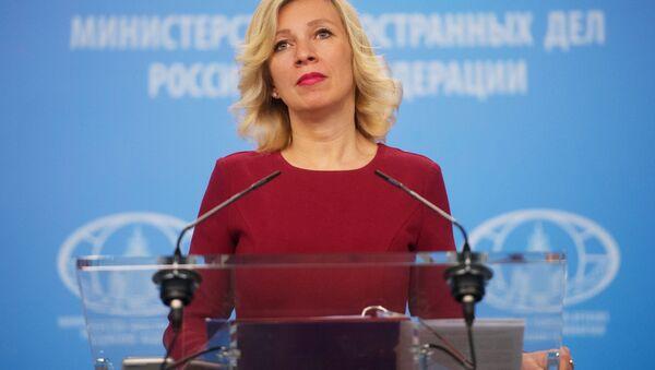 Mluvčí MZV RF Maria Zacharovová - Sputnik Česká republika