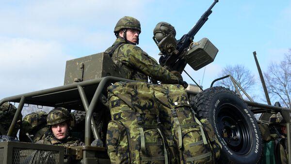 Čeští vojáci na cvičení NATO - Sputnik Česká republika