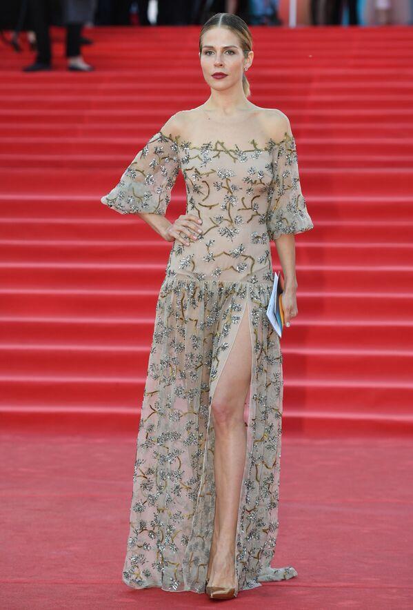 Herečka Marusja Zykovová během slavnostního zahájení Moskevského mezinárodního filmového festivalu - Sputnik Česká republika