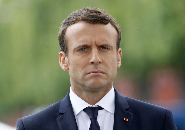 Francouzský prezident Emmanuel Macron. Ilustrační foto