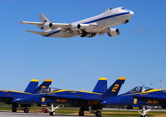 Letadlo E4-B Boeing 747s