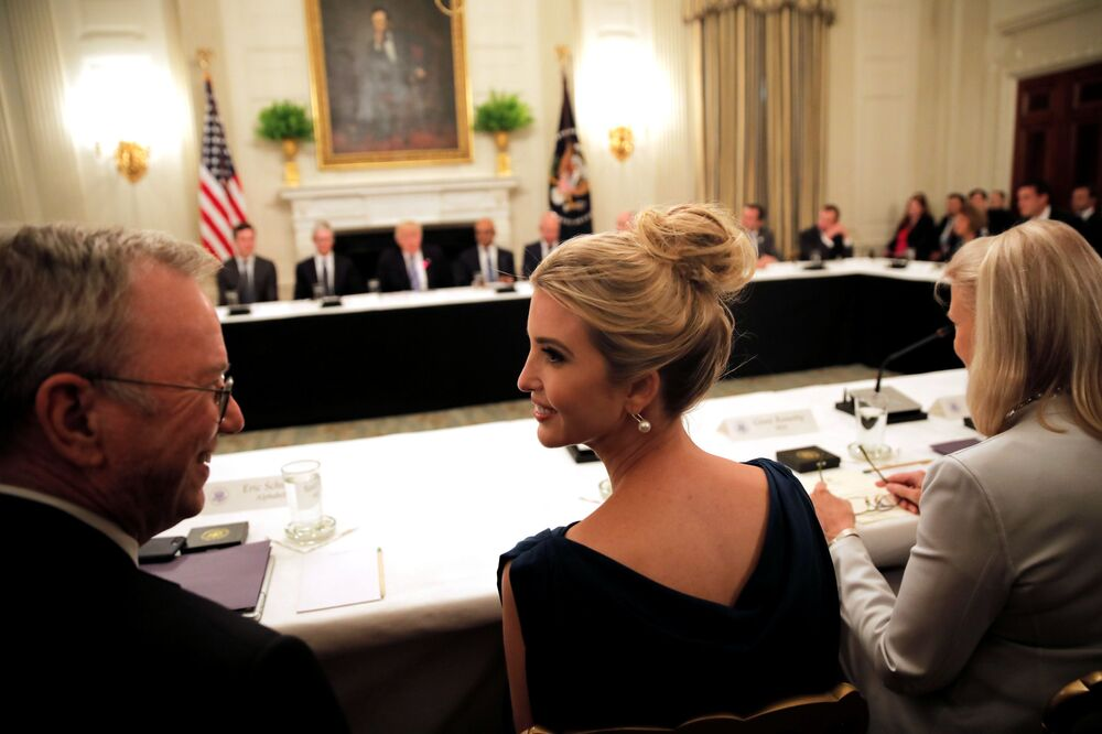 Ivanka Trumpová na American Technology Council ve Washingtonu