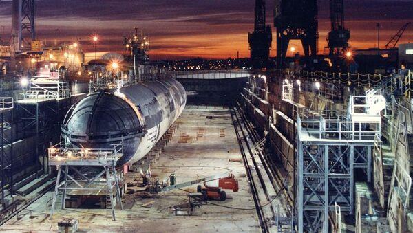 Americká jaderná ponorka Baton Rouge - Sputnik Česká republika