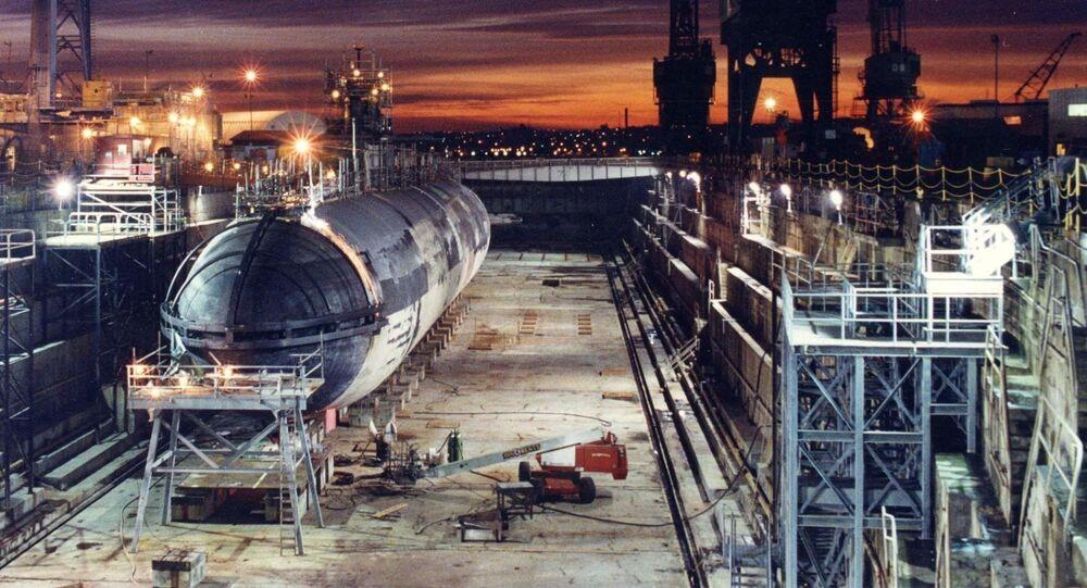 Americká jaderná ponorka Baton Rouge