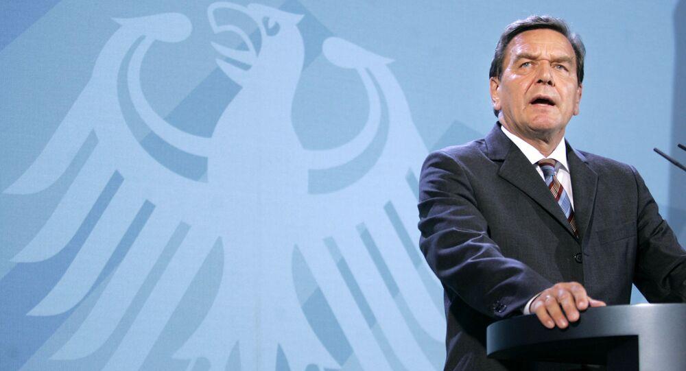 Bývalý kancléř SRN Gerhard Schröder