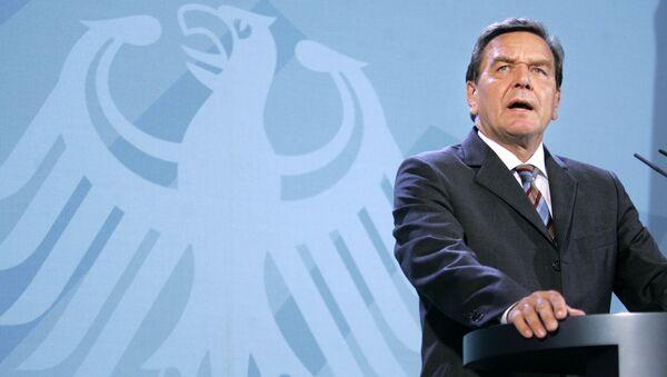Bývalý kancléř SRN Gerhard Schröder - Sputnik Česká republika