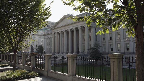 Ministerstvo financí USA ve Washingtonu - Sputnik Česká republika