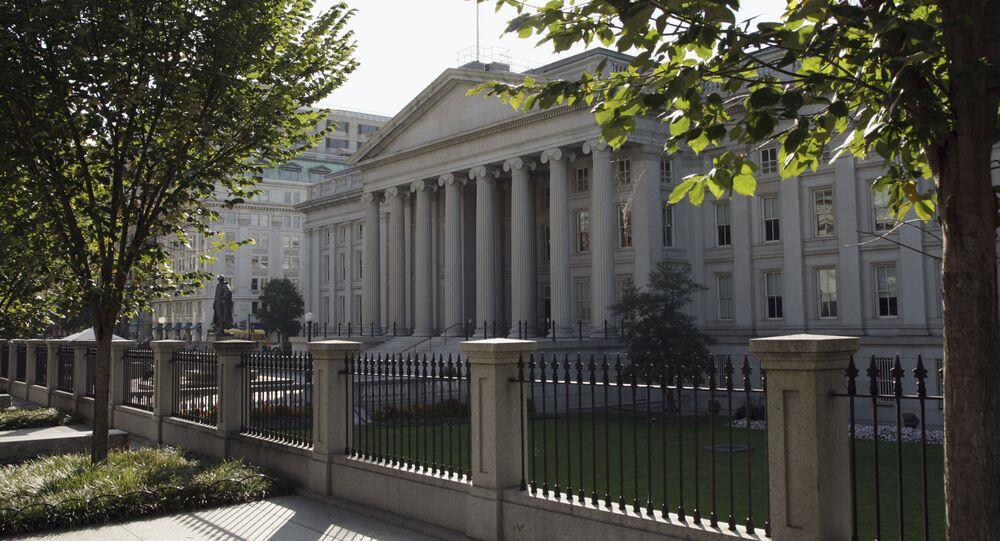 Ministerstvo financí USA ve Washingtonu