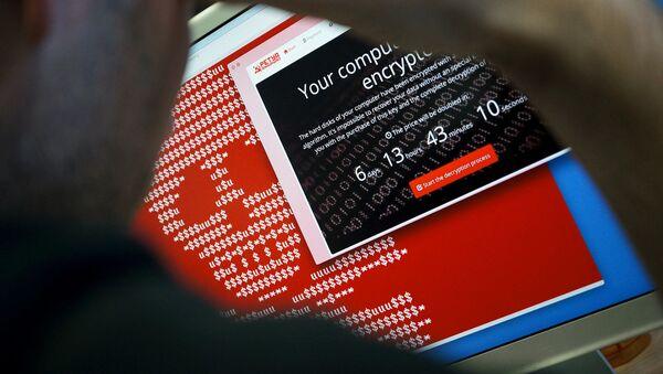 Počítač nakažený virem Petya - Sputnik Česká republika