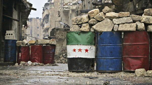 Východní Aleppo, Sýrie - Sputnik Česká republika