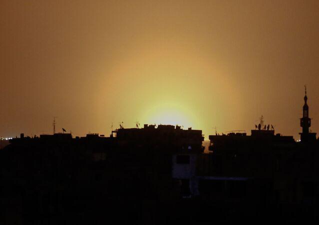 Letiště v Damašku. Ilustrační foto