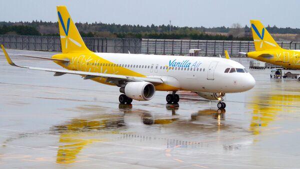 Japonská letecká společnost Vanilla air - Sputnik Česká republika