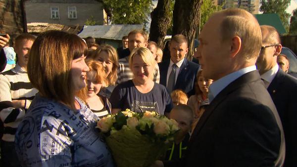 Putin daroval poukázku do Soči obyvatelce sešlého domu - Sputnik Česká republika