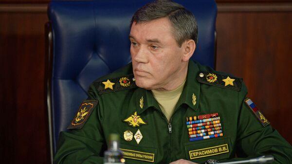 Náčelník Generálního štábu Gerasimov - Sputnik Česká republika