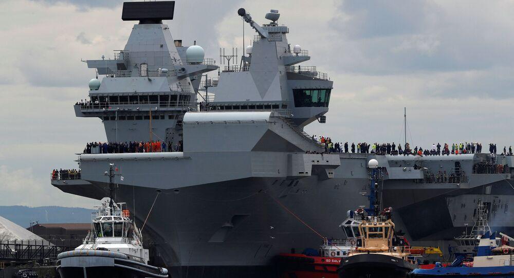 Britská letadlová loď Královna Alžběta