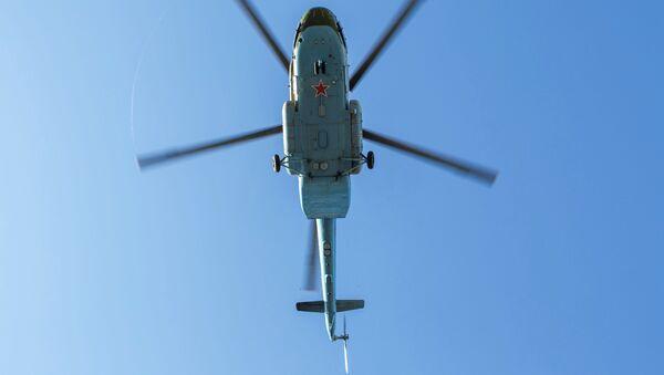 Vrtulník Mi-8MT. Ilustrační foto - Sputnik Česká republika