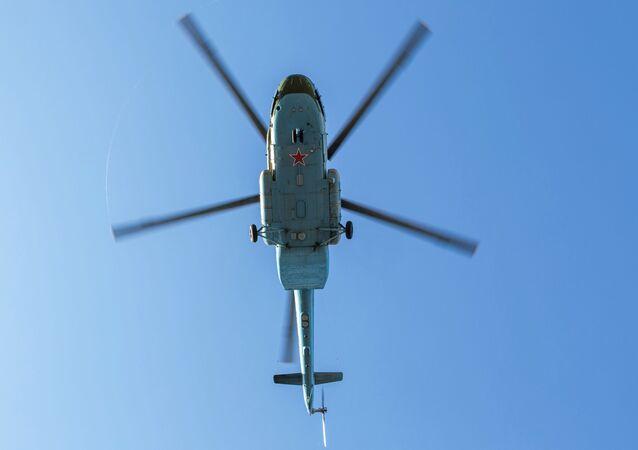 Vrtulník Mi-8MT. Ilustrační foto