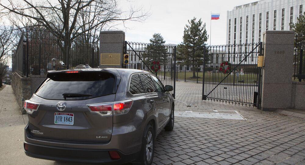 Budova ruského velvyslanectví ve Washingtonu