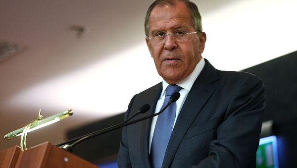 Šéf ruské diplomacie Sergej Lavrov - Sputnik Česká republika
