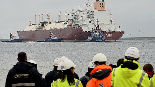 Tanker s zkapalněným plynem - Sputnik Česká republika