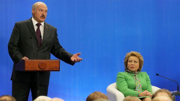 Putin a Lukašenko - Sputnik Česká republika
