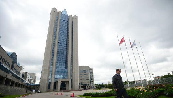 Budova Gazpromu - Sputnik Česká republika