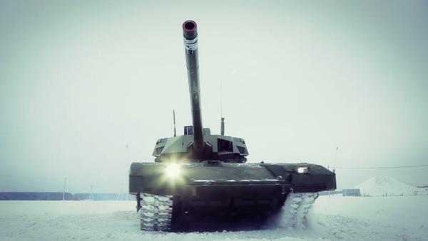 T-14: Ruský tank, který změnil svět zbraní - Sputnik Česká republika