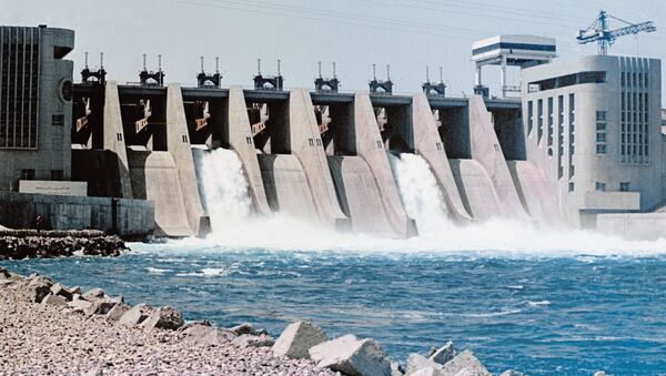 Vodní elektrárna v Sýrii - Sputnik Česká republika