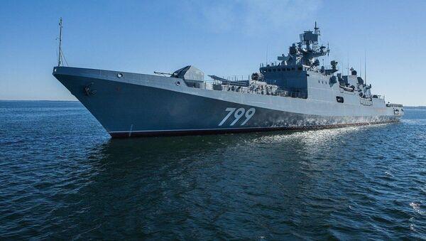 Fregata Admirál Makarov - Sputnik Česká republika