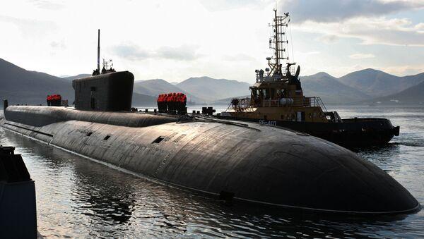 Ruská ponorka projektu 955 Vladimir Monomach - Sputnik Česká republika