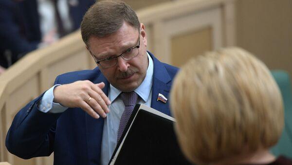 Ruský senátor Konstantin Kosačev - Sputnik Česká republika