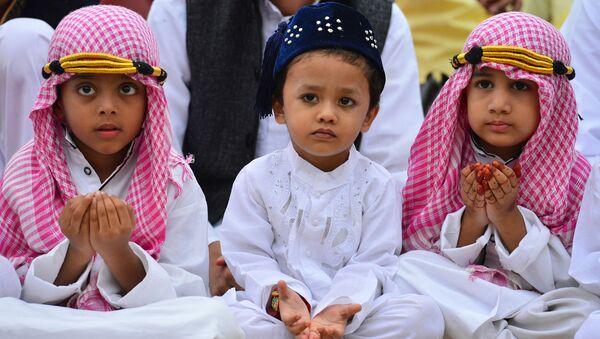 Muslimské děti. Ilustrační foto - Sputnik Česká republika