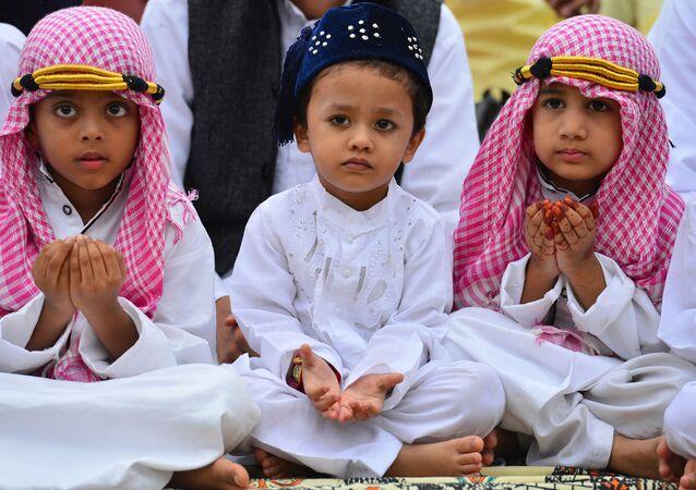 Muslimské děti. Ilustrační foto